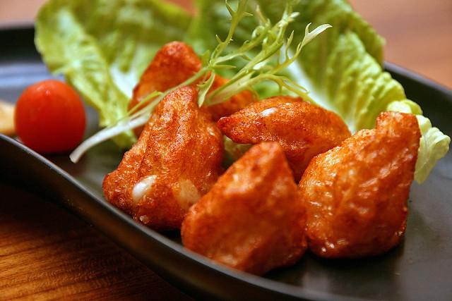 (Kagoshima) Mentai Cheese Chigiri Age