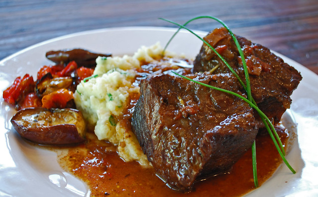 Red Wine-Braised Short Ribs with Rosemary and Porcini | Flickr - Photo ...