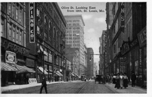 Olive east from 12th postcard