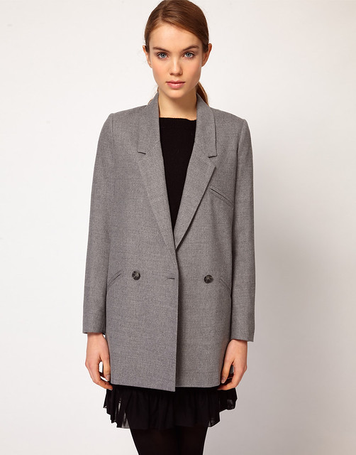 French Conoection Oversized Coat