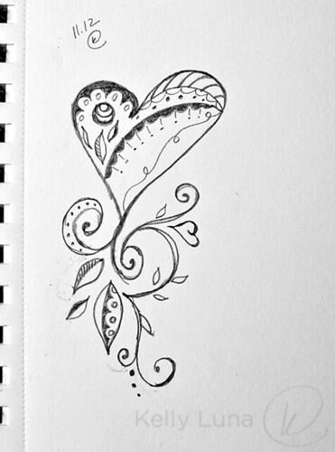 11-12 heart doodle