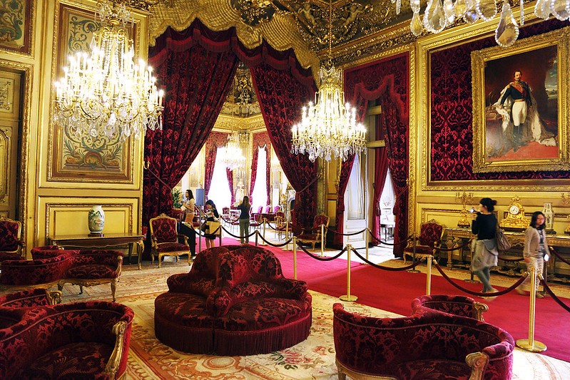 Napoleon III Sitting Room