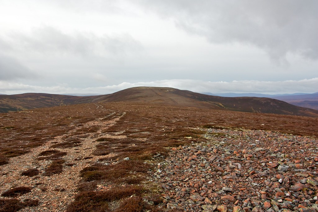 The track to Carn Liath