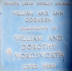 Photo of Dorothy Crackanthorpe and William Cookson blue plaque