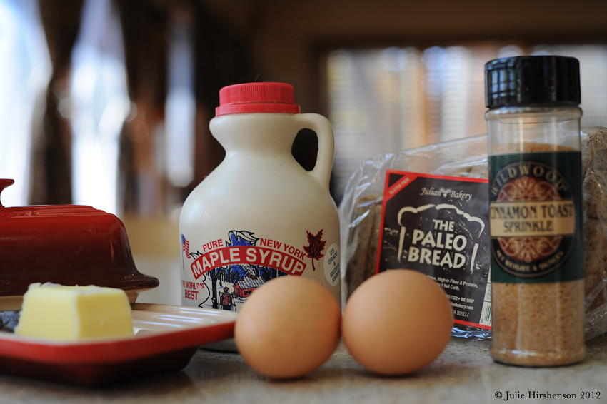 Primal French Toast - Ingredients