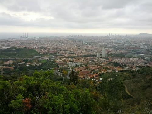 Vista des del Poblat Ibèric de Puig Castellar #cebadalona
