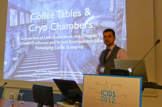 Coffee Tables & Cryo Chambers: A Comparison of User Experience and Diegetic Time between Traditional and Virtual Environment-Based Roleplaying Game Scenarios Bjoern F. Temte and Henrik Schoenau-Fog