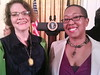 at a White House PRIDE Reception w/Connie Burk (ED of the NW Network & ALLY Exec Prod)