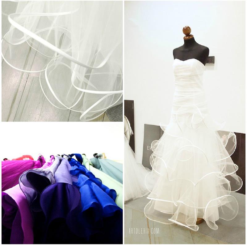 Abiti da sposa e cerimonia bianco e colore