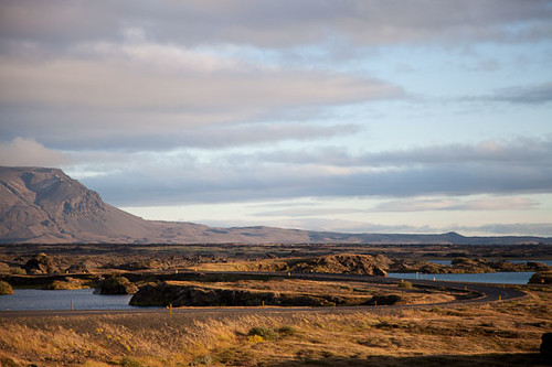 Late Afternoon in Myvatn