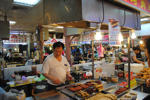 Xilin Night Market Stands