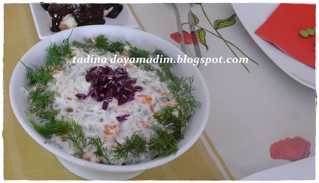 dereotlu rus salatası 1