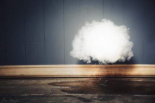 Nube: precipitación