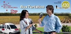 Lanzan el Bus Turístico de la Ruta del Vino de la Patagonia