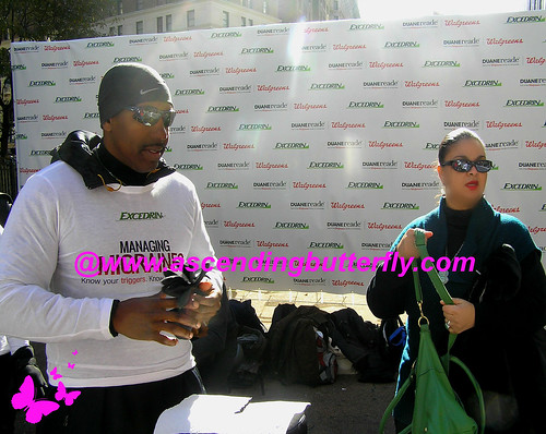 DRExcedrin Event Herald Square me 03 Pre Oasis Day Spa Massage WATERMARKED