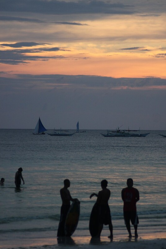 Top Ten Things to Do in Boracay, Skimboarding