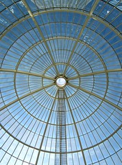 The glass-domed roof of Cabot Place