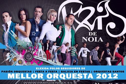 Orquesta París de Noia - Mellor orquestra de Galicia 2012