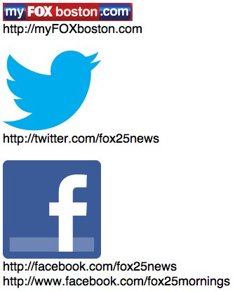 myFOXboston Social Media