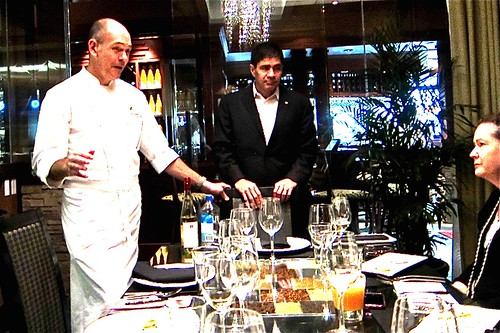 Chef Clfford Pleau & Sommelier George Miliotes