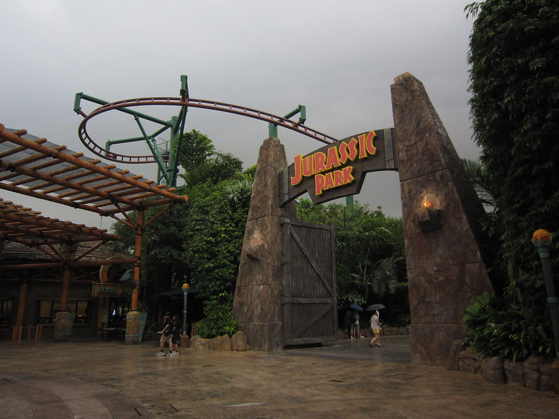 The Lost World - Universal Studios Singapore