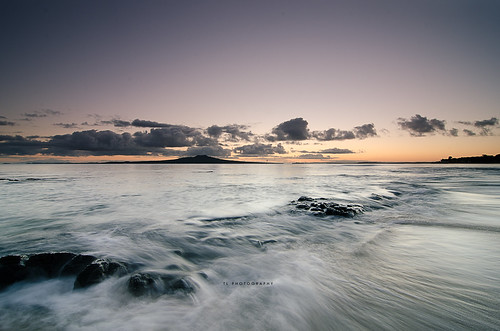 longexposure morning newzealand beach water sunrise flow rocks auckland ultrawide hitech takapuna nationalgeographic takapunabeach hitechfilters reversegrad