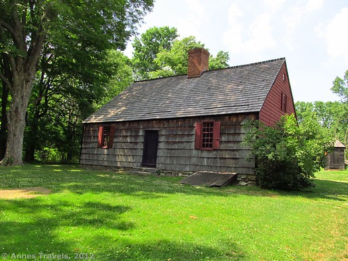 Wick House, Jockey Hollow, Morristown National Historical Park, New Jersey