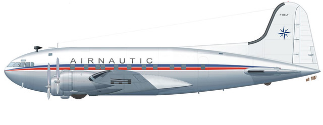 Boeing 307 Stratoliner color profile