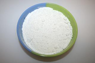 02 - Zutat Dinkelmehl Typ 603 / Ingredient spelt flour