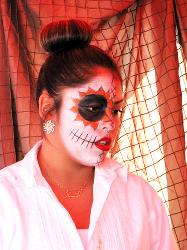 Day of the Dead: Candid Woman