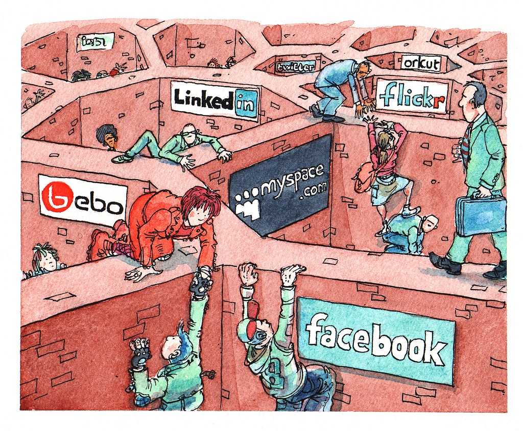 Social Network Silos