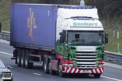 Scania R440 6x2 Tractor - PN11 UYT - Shannon Meghann - Green & Red - 2011 - Eddie Stobart - M1 J10 Luton - Steven Gray - IMG_0336