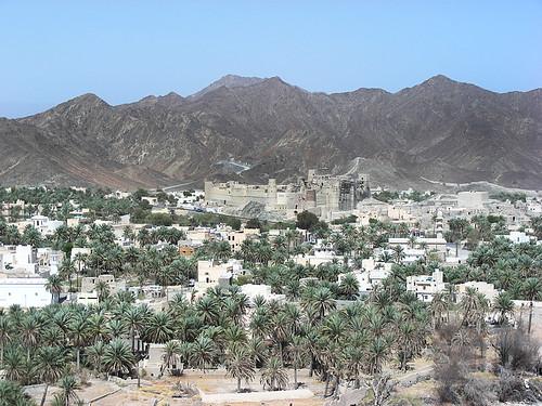 Bahla – opevněná oáza v ománských horách