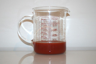 07 - Zutat Tomatensaft / Ingredient tomato juice