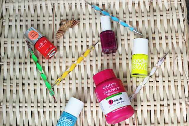 Nails inc Models Own nail polishes, nail dotting tools, Bourjois Magic Nail polish remover