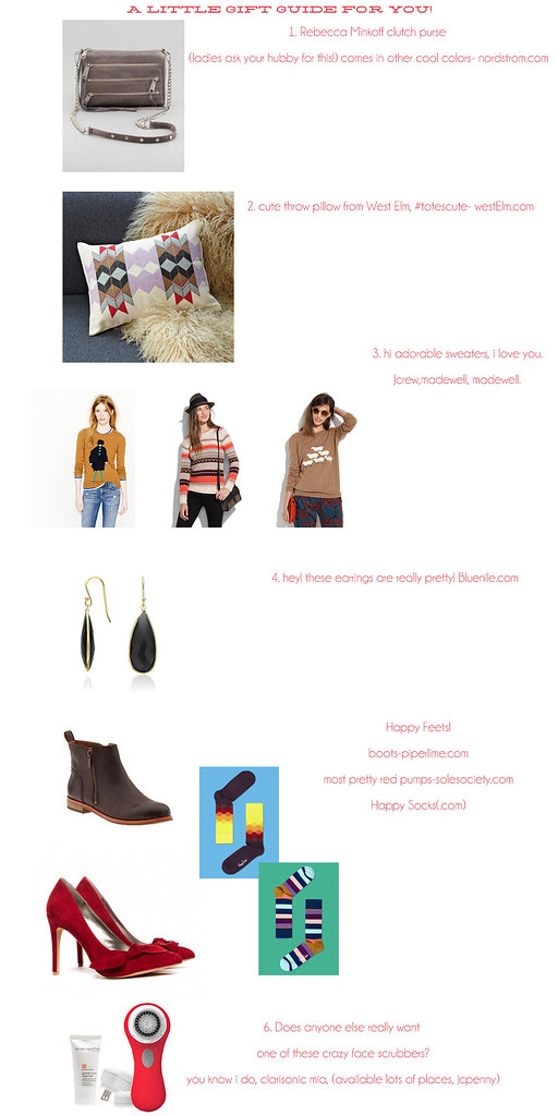 gift guide2012