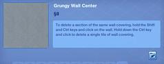 Grungy Wall Center