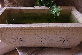 Water in a Sarcophagus