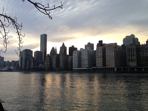 New York, from Roosevelt Island