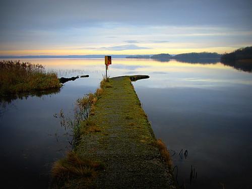 Dusk at Lough Sheelin