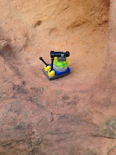 The lego snail joined us