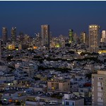 Tel Aviv at the twilight magic hour