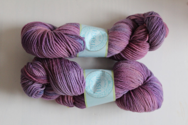 "*Reduced* TIG ""Stardust"" on Springvale Worsted"