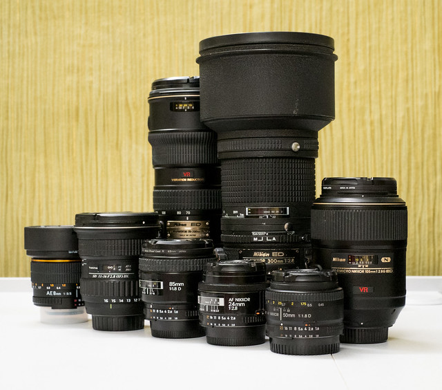 My F lenses
