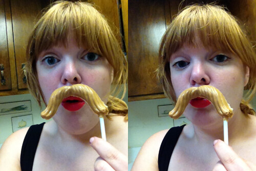 Me with Mustache