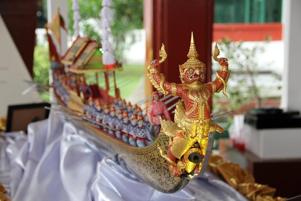 Display at the Thai Royal Navy