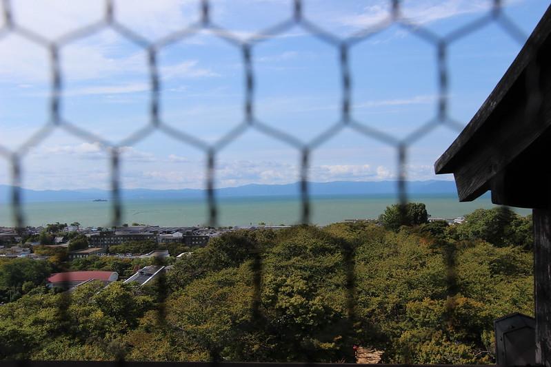 彦根城 本丸からの景色