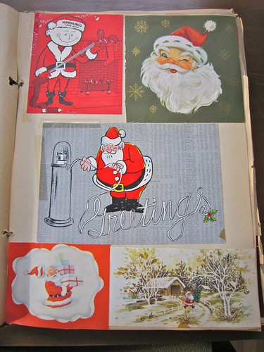 Vintage Christmas Cards Scrapbook 1 / 14
