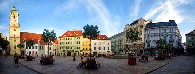Slovacchia, Bratislava, Hlavné námestie