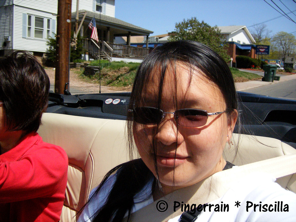 Riding on a convertible